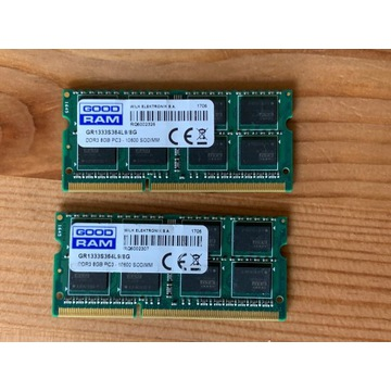 GOODRAM SODIMM 8GB DDR3 PC3-10800 GR1333S364l9/8G