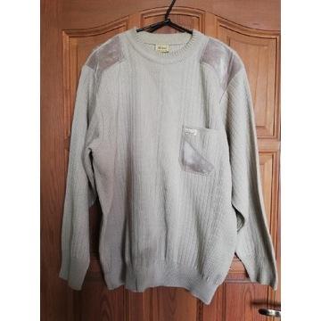 Beżowy sweter Actuel męski