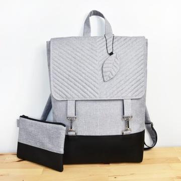 "WODOODPORNY plecak na laptopa 15.6"" damski miejski"