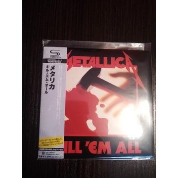 Metallica Kill'em All Japan (UICY-94662)
