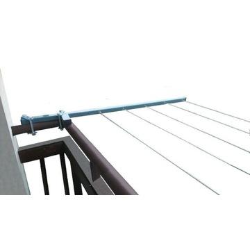 Suszarka na Pranie Balkonowa zewnętrzna balustrada