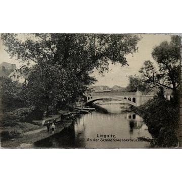 Legnica, Liegnitz, Schwarzwasserbruecke