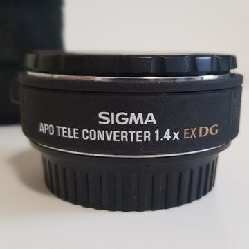 Telekonwerter Extender SIGMA x1.4 EX DG  CANON