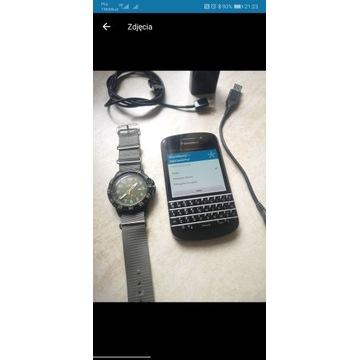 Blackberry Q10 + zegarek Timex