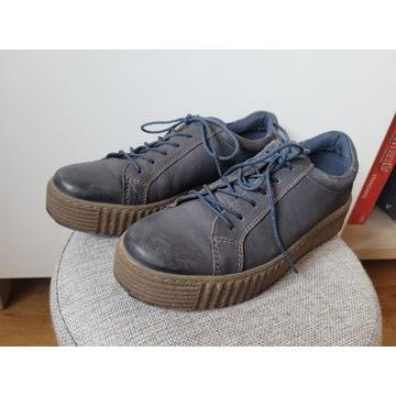 Półbuty Lacocki rozm. 37 buty skórzane