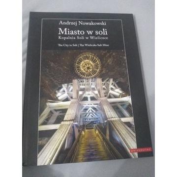 Książka kopalnia soli w Wieliczce Miasto soli