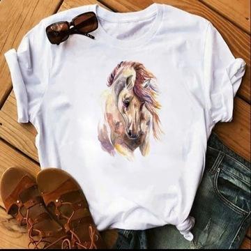 Koszulka bluzka t-shirt koń konie S-XXL