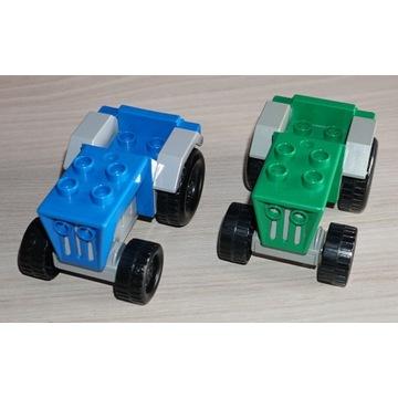 -= LEGO DUPLO - TRAKTORY, TRAKTOR - 2SZT. =-