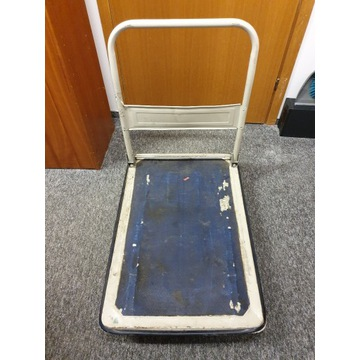 Wózek platformowy składany