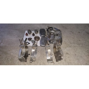 CZ Jawa 350 6V wał, kartery, pokrywa, prądnica