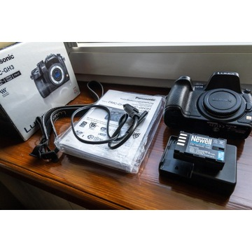 Panasonic Lumix DMC-GH3 body przebieg 3393
