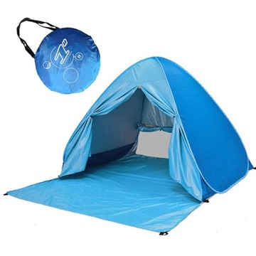 Namiot Pop Up Plażowy 2-3 Osobowy UV50+Wodoodporny