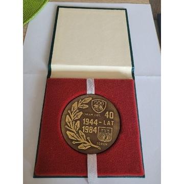 16. Medal 40.lecie wyższa Szkoła oficerska