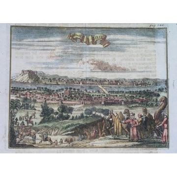 1680 ORYGINAŁ BABILON AZJA IRAK ORIENT AL-HILLAH