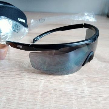 Okulary Uvex 117 rowerowe biegowe sportowe