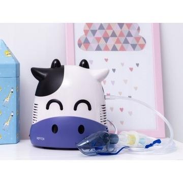 Inhalator nebulizator krówka dla dziecka