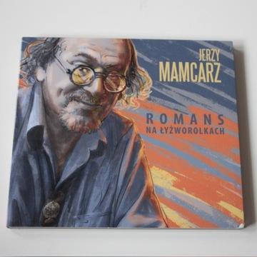 JERZY MAMCARZ --ROMANS NA ŁYŻWOROLKACH