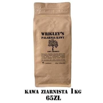 Kawa Ziarnista - Wrigley's - 100% Arabica
