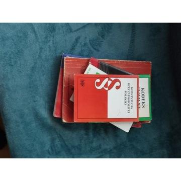 Zestaw książek  dla studentów I roku prawa