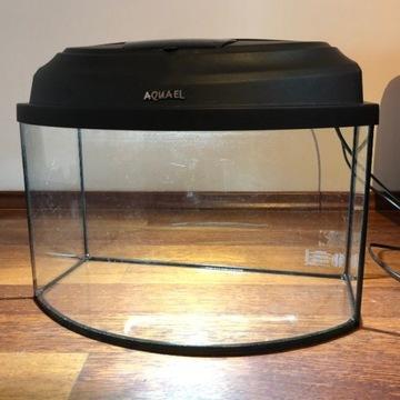 Akwarium 20 litrów + pokrywa z lampą LED + grzałka