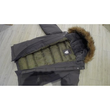 kurtka zimowa puchowa mlodziezowa GAP New YORK USA
