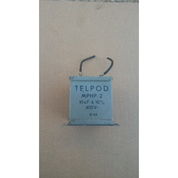 Kondensator MPHP -2 10uF 400V - TELPOD -