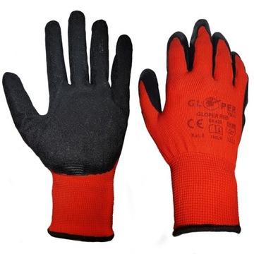 Rękawice Robocze GLOPER Pokryte Latexem 90 PAR