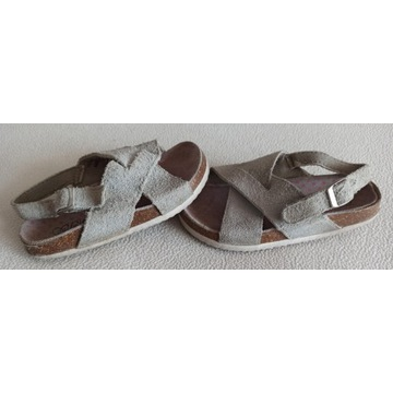popielate sandały Reserved Girls rozmiar 29 18,8cm