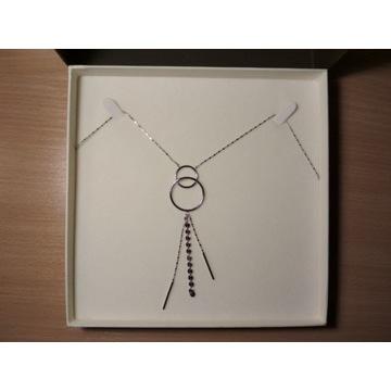 naszyjnik srebrny Apart Simple minimalistyczy