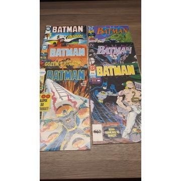 Komiksy stare Batman - 6 szt