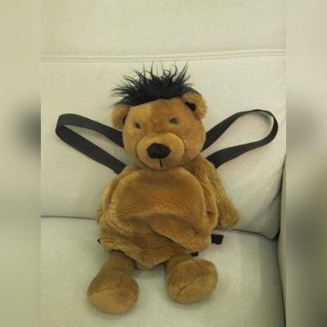 Pluszowy plecak małpka. Stan idealny.