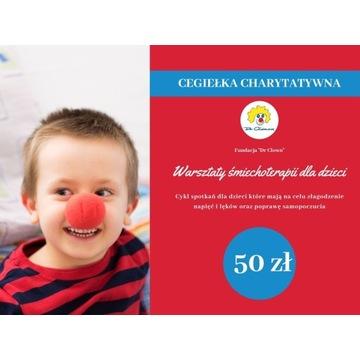 Cegiełka charytatywna o wartości 50zł