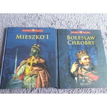 Władcy polski Mieszko I Bolesław Chrobry
