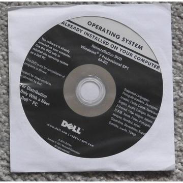 Płyta instalacyjna Windows 7 Professional