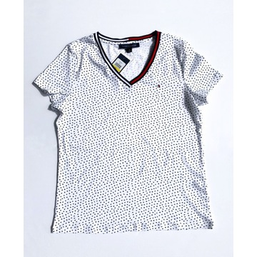 T-shirt koszulka Tommy Hilfiger biała rozm M NOWA