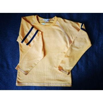 Bluzka longsleeve żółta Numer 8 Rozmiar S 164
