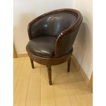 Fotel okrągły do salonu/gabinetu/przedpokoju