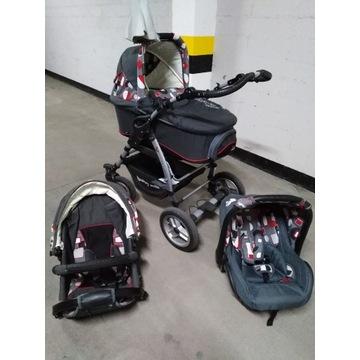 Wózek wielofunkcyjny 3w1 - firma Baby Smile V-Max