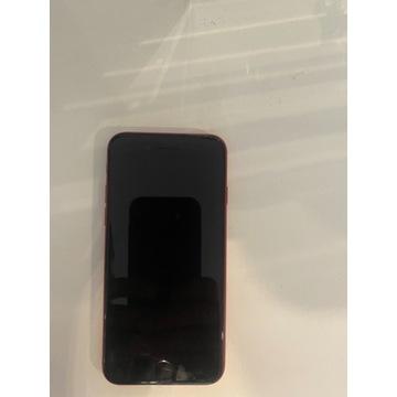 Używany czerwony  iphoneSE2020 stan idealny 64gb