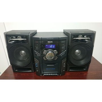 Miniwieża Hi-Fi Philips FWM197 z CD-MP3 i USB