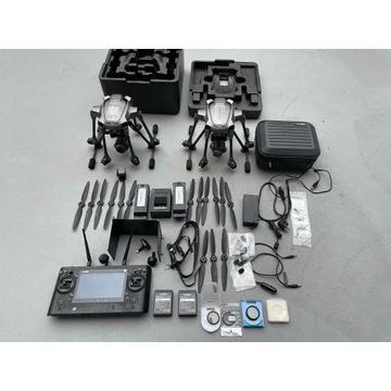 2x Yuneec Typhoon H Plus + C23 + ST16s + akcesoria