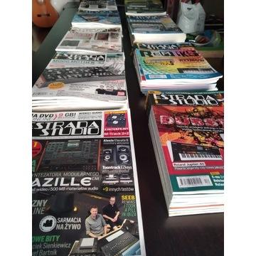 Estrada i Studio roczniki od 2008 do 2016 + płyty