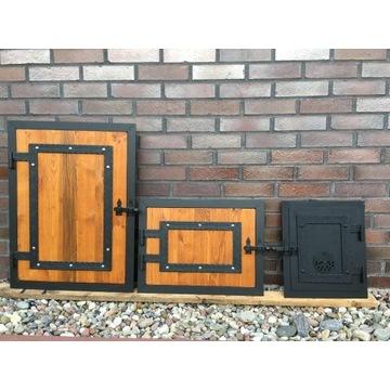 Drzwiczki do wędzarni,grillo-wędzarni,drzwi 3szt