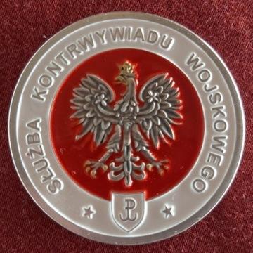 Coin Medal Pamiątkowy SKW Kontrwywiadu Wojskowego