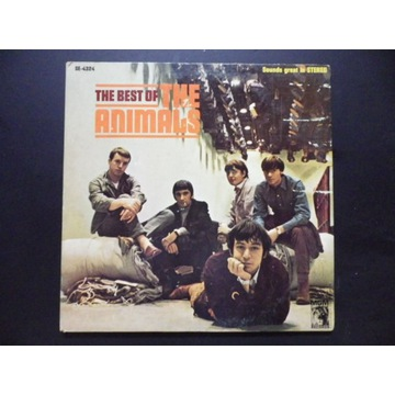 The Best Of The Animals - 1st press  USA