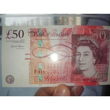 100 funtów angielskich kolekcjonerskich