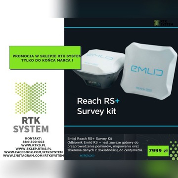 EMLID REACH RS+ Survey Kit