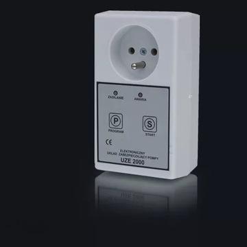 Elektroniczny układ zabezpieczający UZE 2000