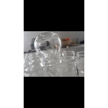 Bańki lekarskie szklane