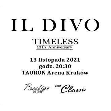 IL DIVO Bilety na koncert, 3 rząd od sceny